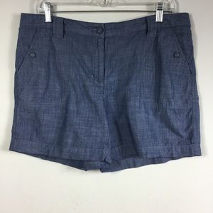 VAN HEUSEN CHAMBRAY SHORTS